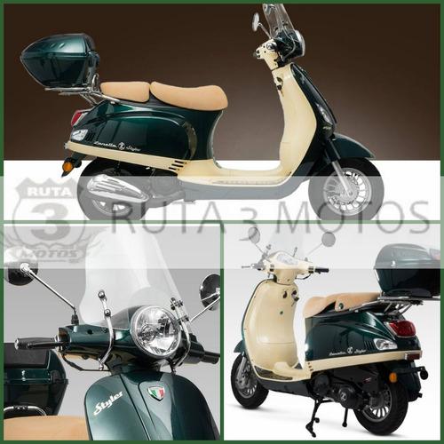 moto scooter zanella styler 150 z3 exclusive 0km 2018