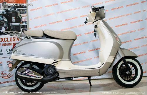 moto scooter zanella styler z3  vespa 0km edicion limitada