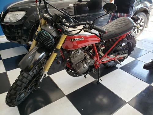 moto scrambler honda xlx250 / 350 modificada ñ cafe racer