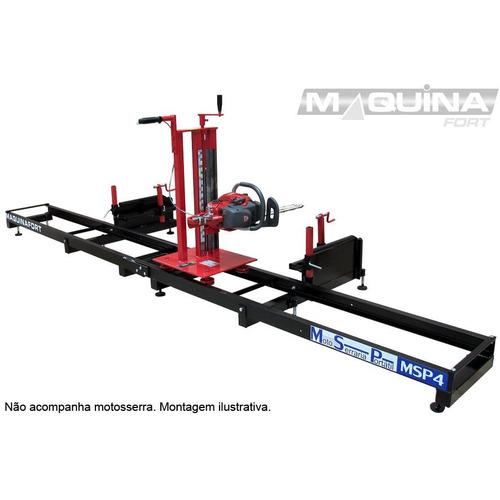 moto-serraria móvel msp-5 - maquinafort