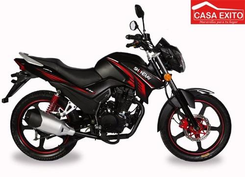 moto shineray xy 200-23 200cc año 2019 color ne/ro