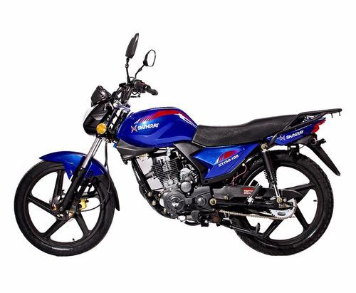 moto shineray xy150-10d 150cc año 2019 color ro/ ne/ az