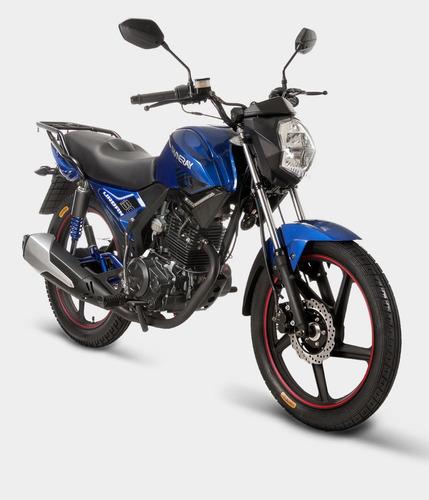 moto shineray xy150-10f año 2019 color rojo/negro/azul