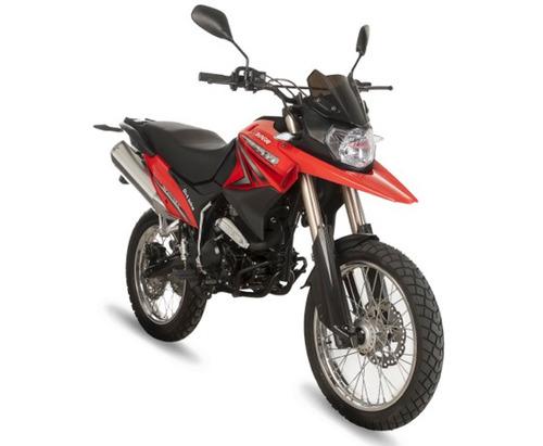 moto shineray xy250gy-6a  250cc año 2018  adventure