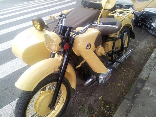 moto side car 650cc side car russa pós guerra