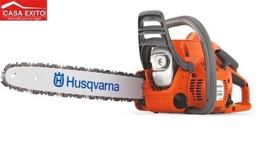 moto-sierra de gran potencia y bajo peso husqvarna hq-395xp