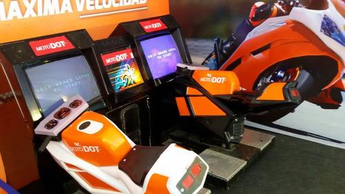 moto simulador toro mecanico daytona pinball