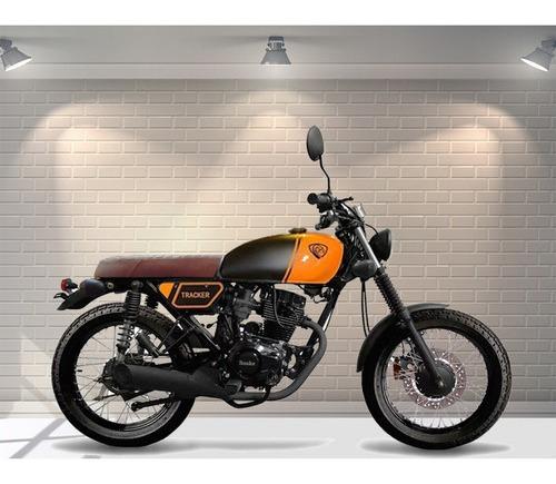 moto snake 125 c.c. caferacer cg 2019 old school la mejor!!