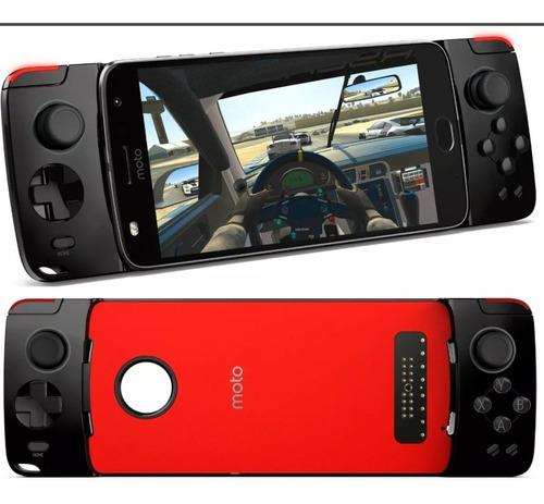 moto snap gamepad original  p/  z play z2 play z3 play nf.
