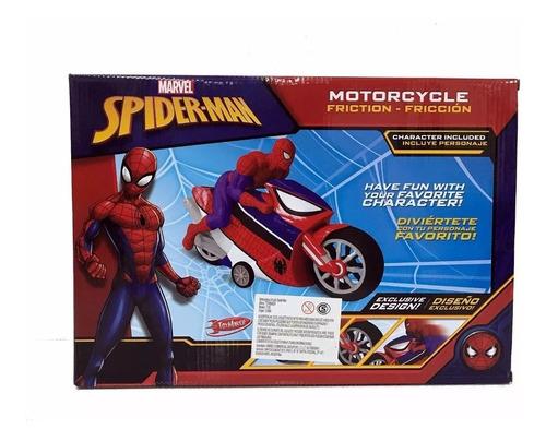moto spiderman 7126 a friccion