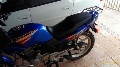 moto strada 2001 honda cbx 200  azul