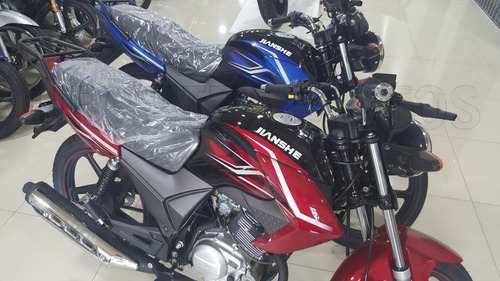 moto street jianshe js 125 6by 0km calle financiada