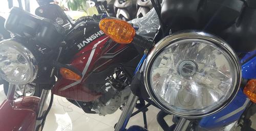 moto street jianshe js 126 6by exclusiva 0km urquiza motos