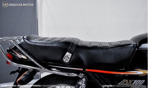 moto street suzuki ax 100 ax100 cafe racer 0km urquiza motos