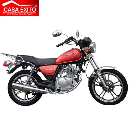 moto sukida gne-200/ 200cc año 2018 color rojo - azul