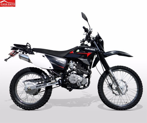 moto sukida sks250 std 250cc año 2020 color ro/ az/ ne/ bl