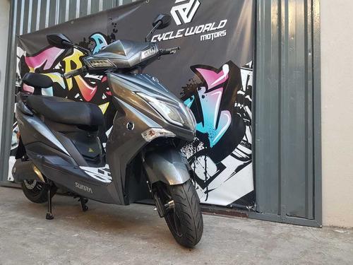 moto sunra electrica hawk litio 0km 3000w 2020 gris al 14/4