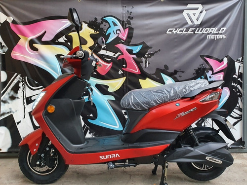 moto sunra electrica leo litio extraible 2000w  cycle 19/11