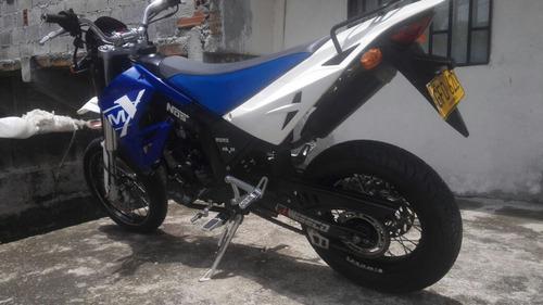 moto super motard lmx 150 2014 papeles al día