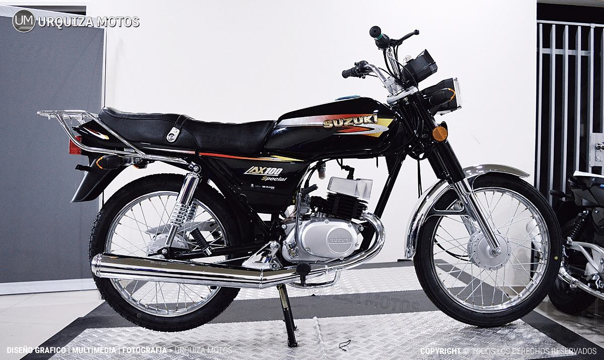 Suzuki Ax Cafe Racer