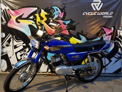 moto suzuki ax 100 0km 2020 promo al 19/7 cycle world