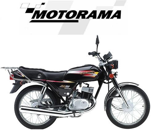 moto suzuki ax 100 0km - concesionaria motorama
