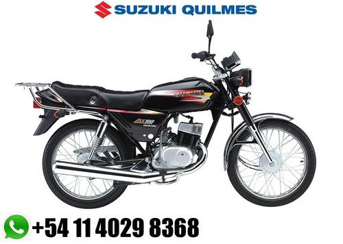 moto suzuki ax 100 *2017* 12 cuotas ahora 12