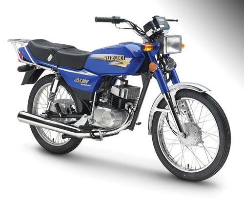 moto suzuki ax 100 *2017* 12 cuotas ahora 12 casco de regalo