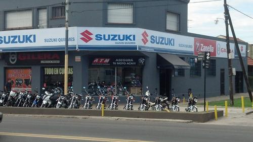 moto suzuki ax 100 *2018* cuotas ahora 12 18 suzuki quilmes