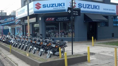 moto suzuki ax 100 *2018* usada 12 cuotas ahora 12 18
