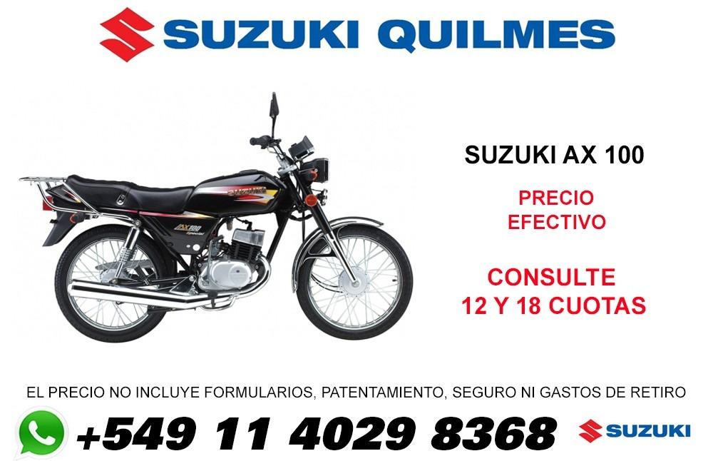 moto suzuki 100 precio