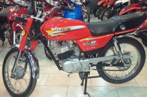 moto suzuki ax 100 okm