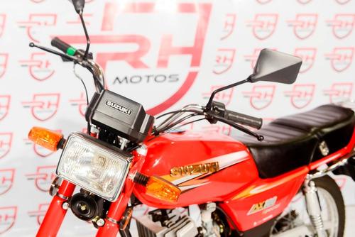 moto suzuki ax100 casco regalo cc cuotas stock city full ax