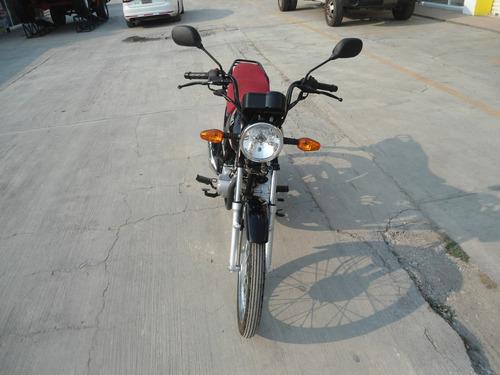 moto suzuki ax4 gd115 hu modelo 2015 negra con rojo