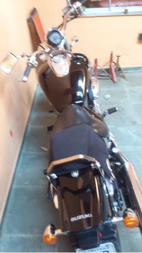 moto suzuki boulevard m800, revisada impecável!!