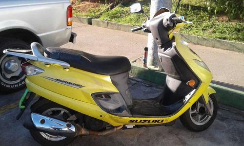 moto suzuki burgman 125