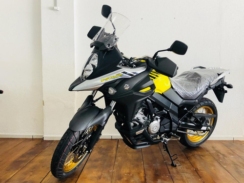 moto suzuki dl 650xt v-strom 2019 0km amarela pronta entrega