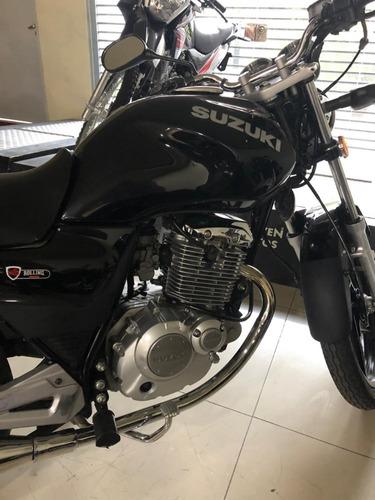 moto suzuki en 125 - negro - tigre - año 2017 - 31000 kms