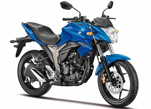 moto suzuki gixxer 150 0km 2018 negro hasta el 19/10