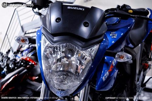 moto suzuki gixxer 150 gsx 12 y 18 cuotas 0km urquiza motos