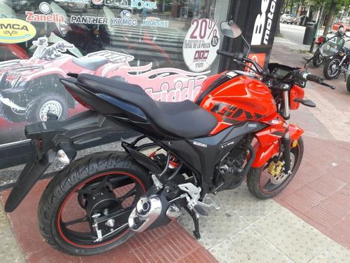 moto suzuki gixxer 150 tipo yamaha  oferta motovega