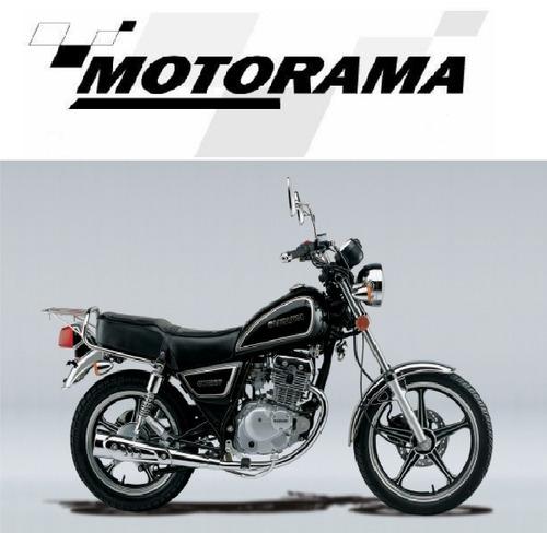 moto suzuki gn 125 0km - concesionaria motorama