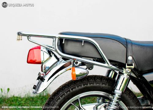 moto suzuki gn 125 f cafe racer nueva dni custom tracker 0km