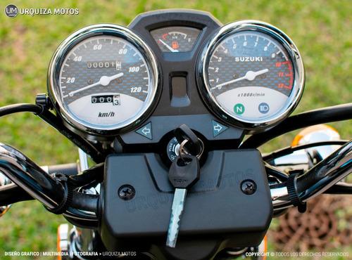 moto suzuki gn 125 f nuevo street cafe 0km urquiza motos