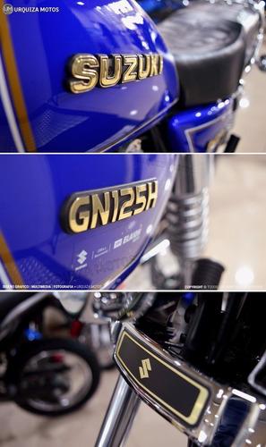 moto suzuki gn 125 h cafe racer tracker 0km urquiza motos
