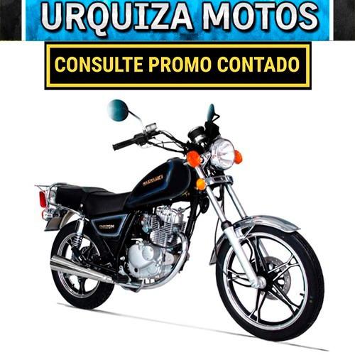 moto suzuki gn 125 h custom street cafe 0km urquiza motos