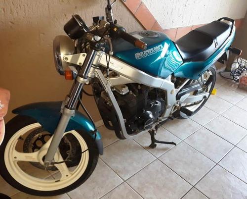 moto suzuki gs500 e 1995 - 31.000 km - doc ok