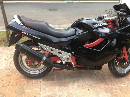 moto suzuki gsfx 750 otimo estado zerada