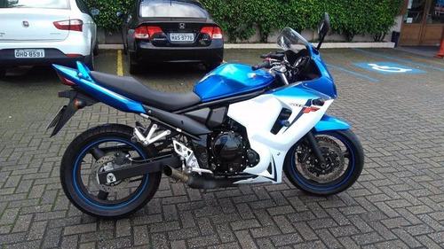 moto suzuki gsx 650 f azul