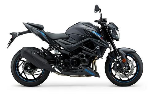 moto suzuki gsx 750 0km 2019 naked blanco entrega ya 14/8